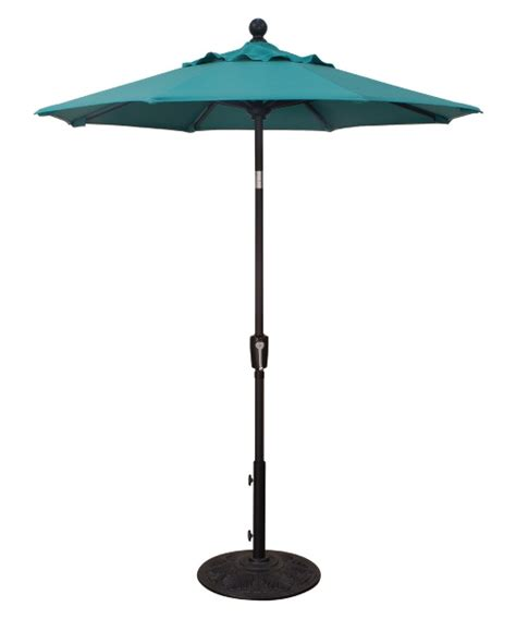 6 patio umbrella treasure garden 6 ft aluminum push button tilt patio