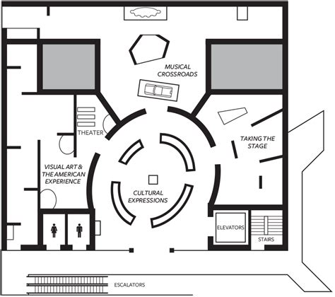 Make A Floor Plan by Museum Maps National Museum Of African American History