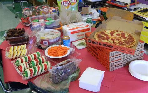 christmas food ideas for class party winter holiday class