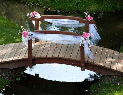 wedding bridge unique outdoor wedding ideas slideshow