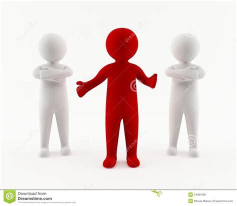 imagenes back up 3d man with backup team stock illustration illustration