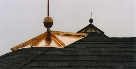 Cupola Cap Cupolas Chimney Caps Finials Illinois Custom Copper