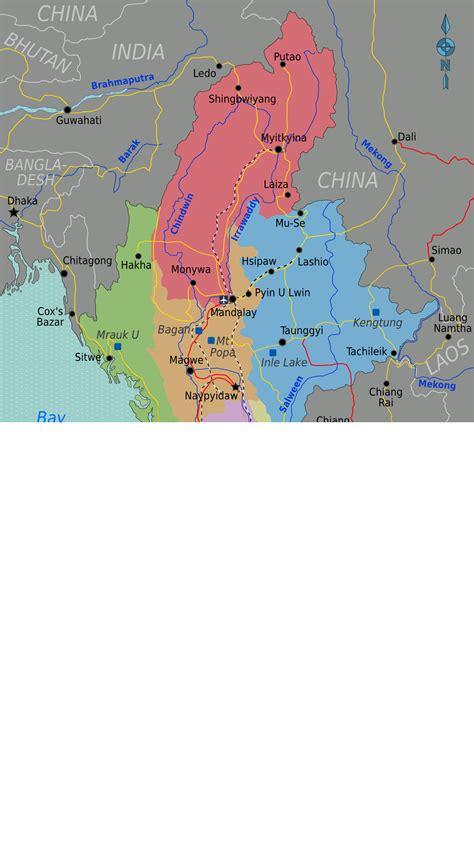 myanmar map png myanmar burma getting going stevensirski