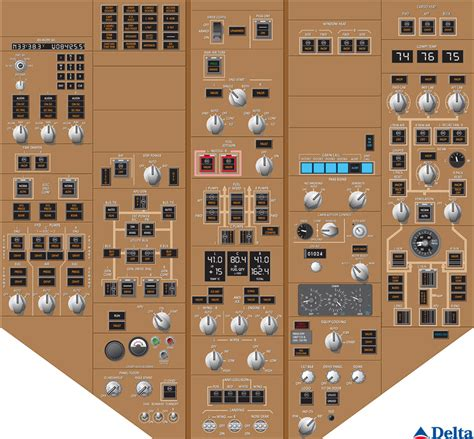 Home Plans With Photos Of Interior delta overhead flight instruments for boeing 767 400