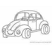 Coloring Pages For Kids  Printables Pinterest Cars