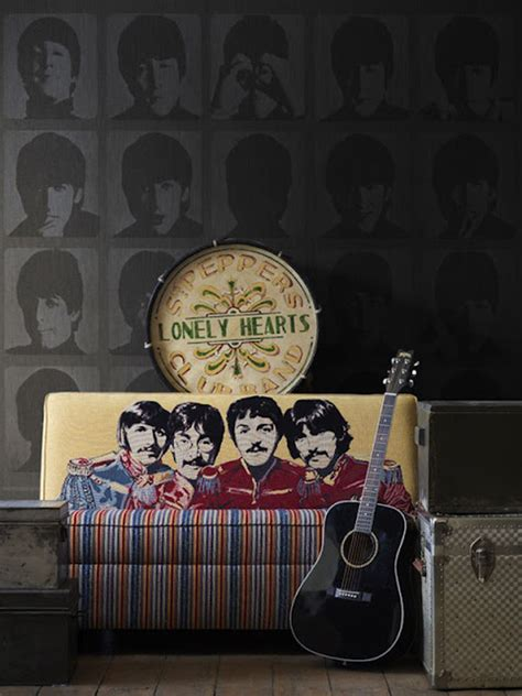 beatles home decor the beatles wallpaper