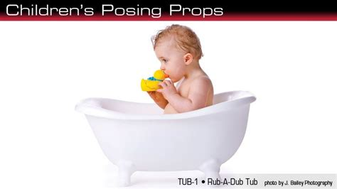 Baby Bathtub Photo Prop by Miniature Bath Tub Photos Props