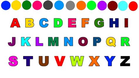 free abc painting learn alphabet for learn alphabet with
