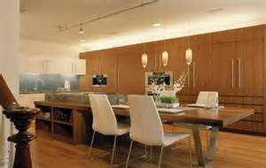 Kitchen island dining table attached kitchen island with table top