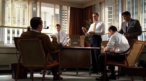 don draper office office furniture mad men style myeoffice workplace