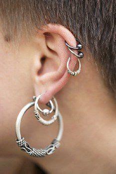 ninas pendientes de aro de cartilago cartilago de la pluma arete piercing en el cartilago de la oreja tendenzias com