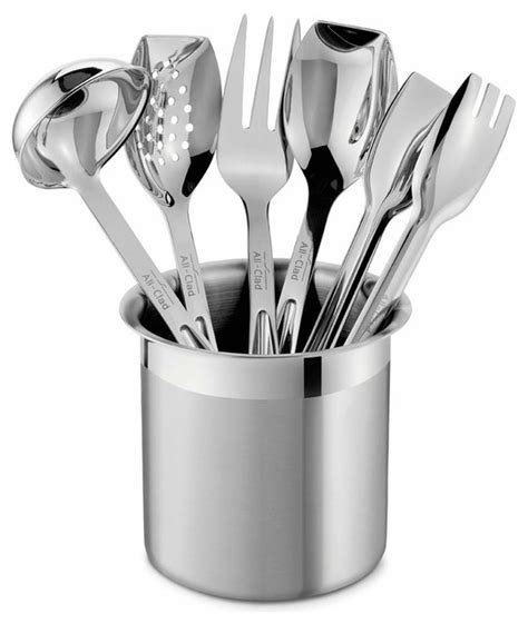 all clad stainless steel kitchen tool set