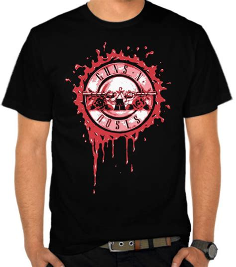 Kaos Guns N Roses Gunrose 27 jual kaos guns n roses 4 guns n roses satubaju