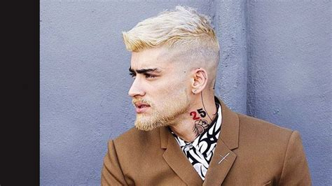 zayn malik s blonde beard is a learning opportunity for us