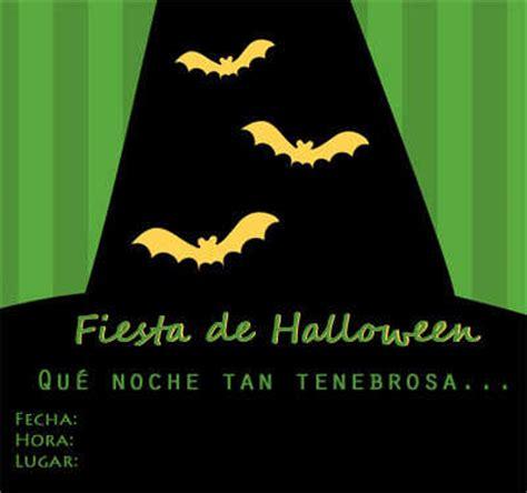 imagenes de halloween para invitaciones invitaciones de halloween para imprimir fiesta101