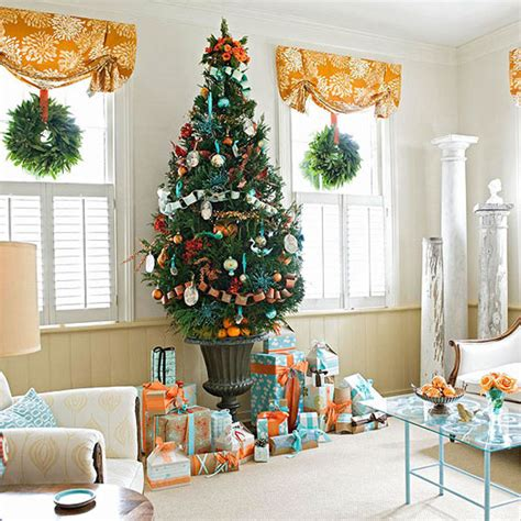 christmas home decorating ideas to get you in the holiday mood 海外のオシャレなクリスマスデコレーション画像 リビングルームの飾り方 interior design box