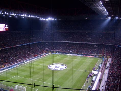 posti a sedere san siro i 10 stadi di calcio pi 249 grandi mondo
