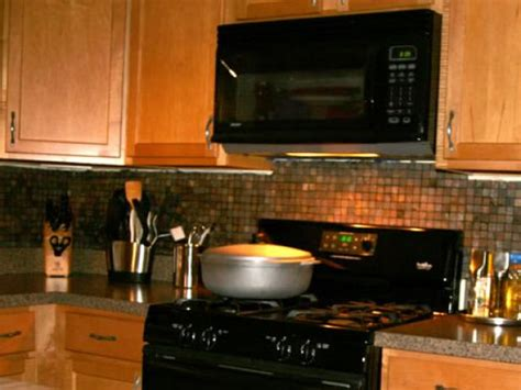how to apply backsplash in kitchen installing kitchen tile backsplash hgtv