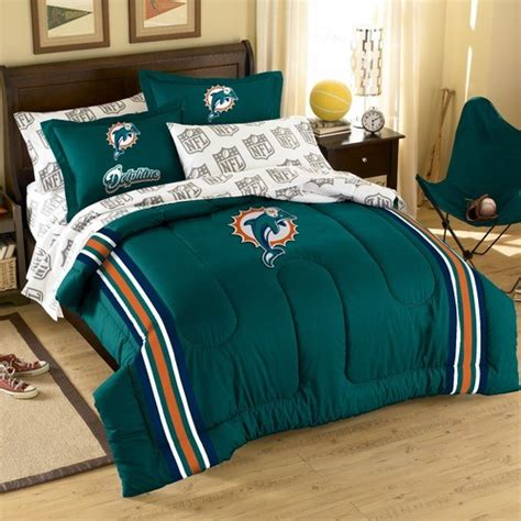 miami dolphins bedding nfl miami dolphins bed in bag set modern bedding by