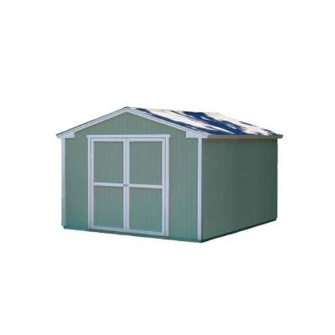 Home Depot Small Building Kits Handy Home Products Cumberland 10 Ft X 12 Ft Wood