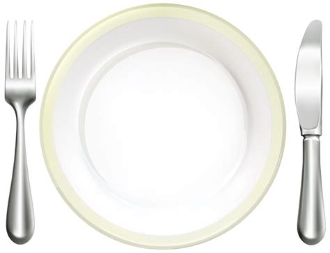 place settings place setting clipart 47