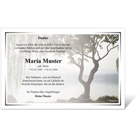 Kostenlose Vorlage Trauerkarte danksagungen trauer die beliebtesten motive im