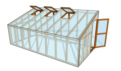 green house plans how to build a lean to greenhouse howtospecialist how