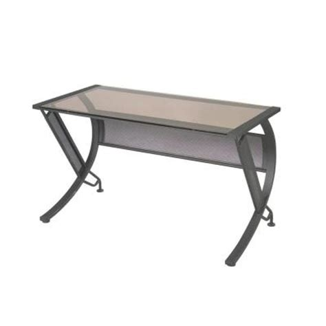 ospdesigns horizon l shaped computer desk in black bronze