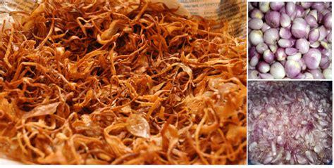 Bawang Goreng Pedas Kecil beginilah cara membuat bawang goreng renyah dan tidak