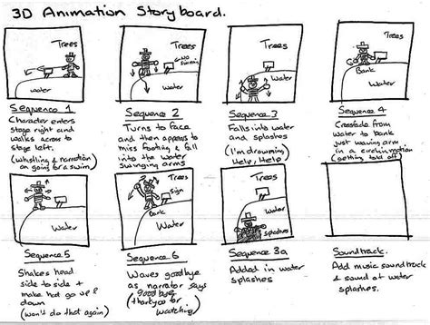 animation storyboard work mark shaw games design page 8