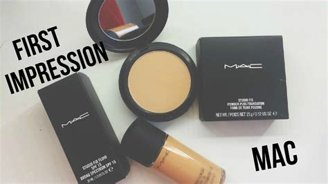 Mac Studio Fix Powder Foundation mac studio fix fluid mac studio fix powder plus