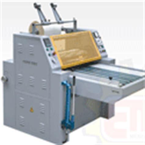Mesin Laminating Percetakan mesin percetakan daftar stock terbaru mesin cetak