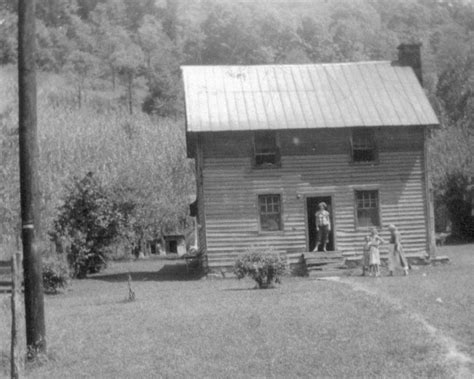 Cabin Creek West Virginia by Anthony Cabin On Harts Creek Logan County West
