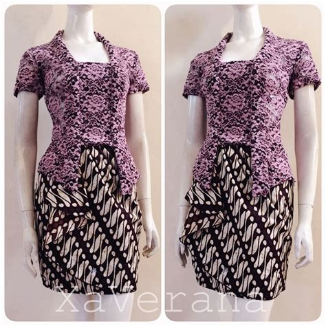 Blouse Batik Kb Prada 89 best kebaya by xaverana images on batik dress batik fashion and brokat