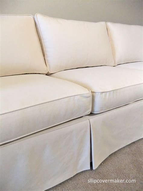 canvas sofa slipcover 17 best images about sherry s sofa chair slipcovers on