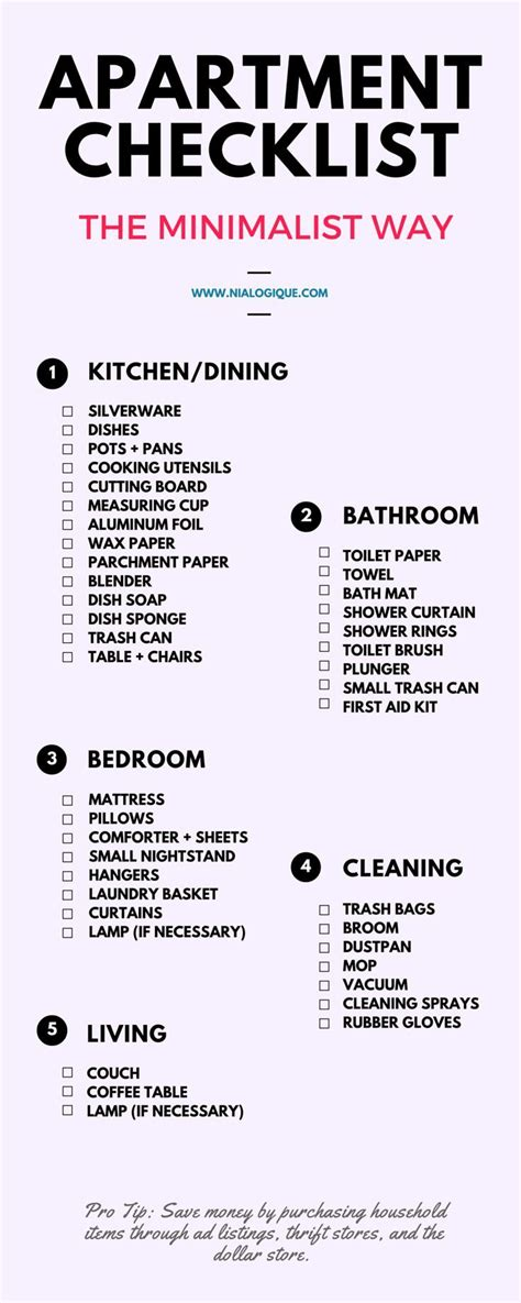 moving into first house checklist 25 best ideas about first apartment checklist on