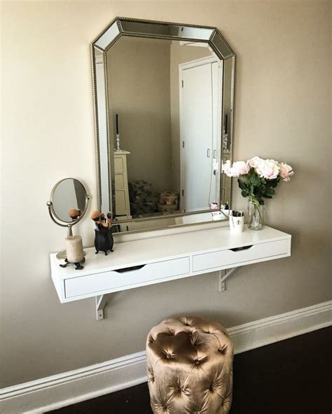 ikea ekby alex shelf with mirror and lighting perfect ikea ekby alex shelf as vanity painted brackets my wall