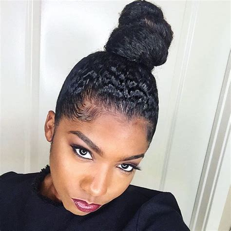 black hair buns best 25 ninja bun ideas on pinterest black hair knot