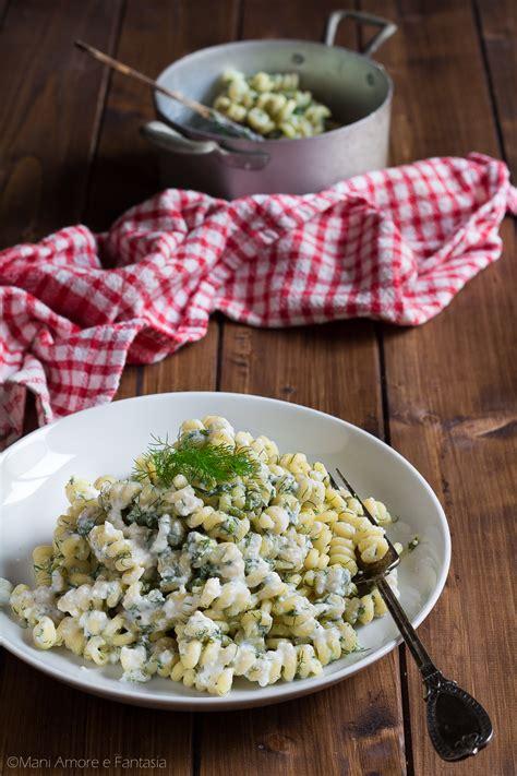 cucinare i finocchietti pasta ricotta e finocchietti cremosa piatto siciliano con