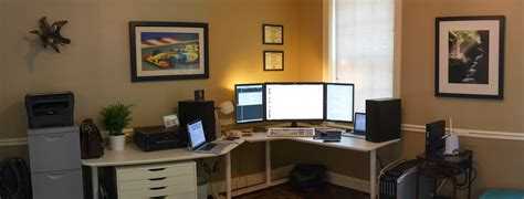 home office design reddit my new home office setup battlestations