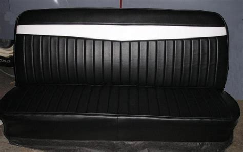 work bench seat tuck n roll truck pinterest chevy truck interior