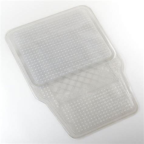 clear vinyl floor mats for cars 4 pc clear vinyl floor mats cover protect carpet for all