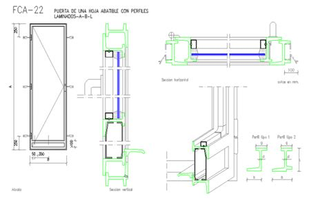 Aluminium And Glass Door Detail In Autocad File Glass Door Detail