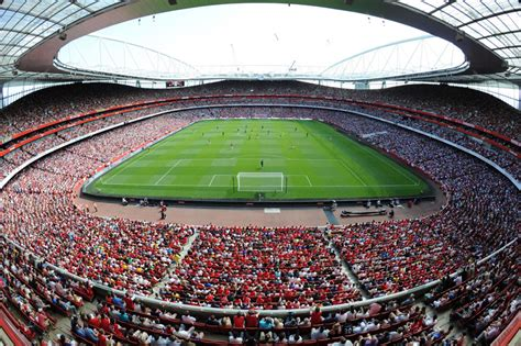 arsenal emirates stadium here s how you can play a game of football on the emirates
