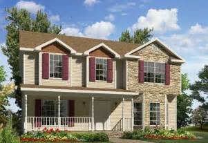 Two Story Homes roosevelt two story style modular homes
