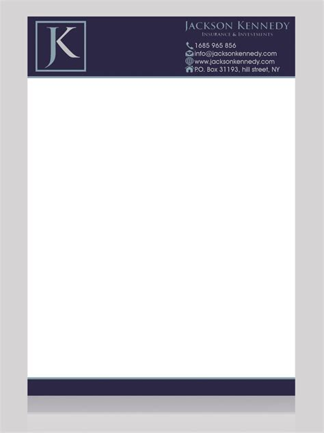 Insurance Letterhead 48 Serious Professional Insurance Letterhead Designs For A Insurance Business In United States