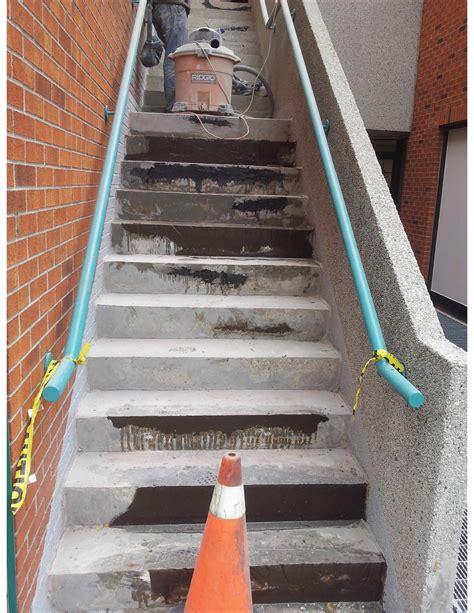 Rebuild Concrete Steps Leading To concrete stairs repair