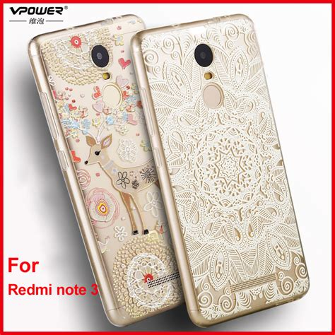 Silicon Casing Hardcase 3d Xiaomi Redmi 3 Redmi 3 Pro aliexpress buy xiaomi redmi note 3 cover vpower silicone 3d relief print tpu soft