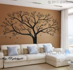 home accents wall: giant family tree wall sticker vinyl art home decals room decor mural