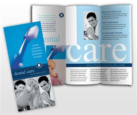 dental brochure templates dental office orthodontist practice brochure templates